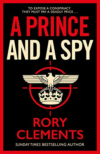 book Rory Clements A prince and a spy
