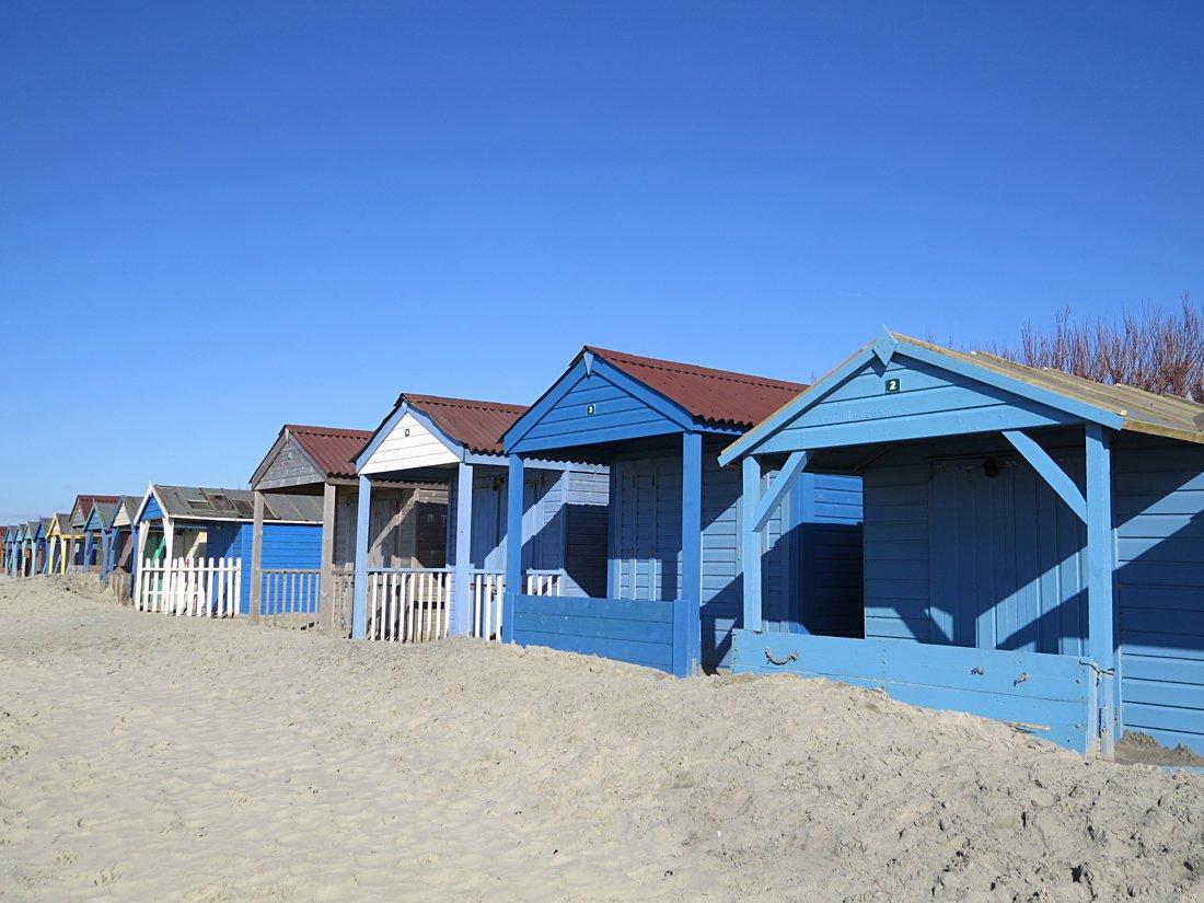 Beach huts Jane Hammett photography