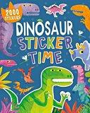 Dinosaur sticker time