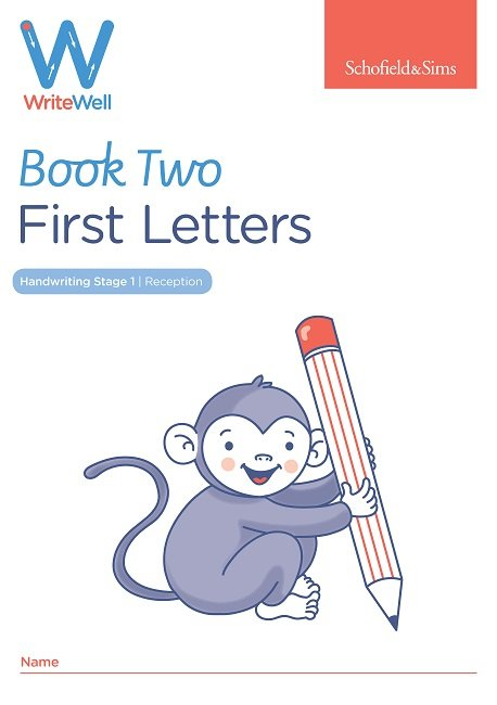 Schofield Sims WriteWell First letters book 2