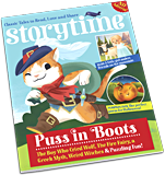 Storytime magazine Puss in Boots